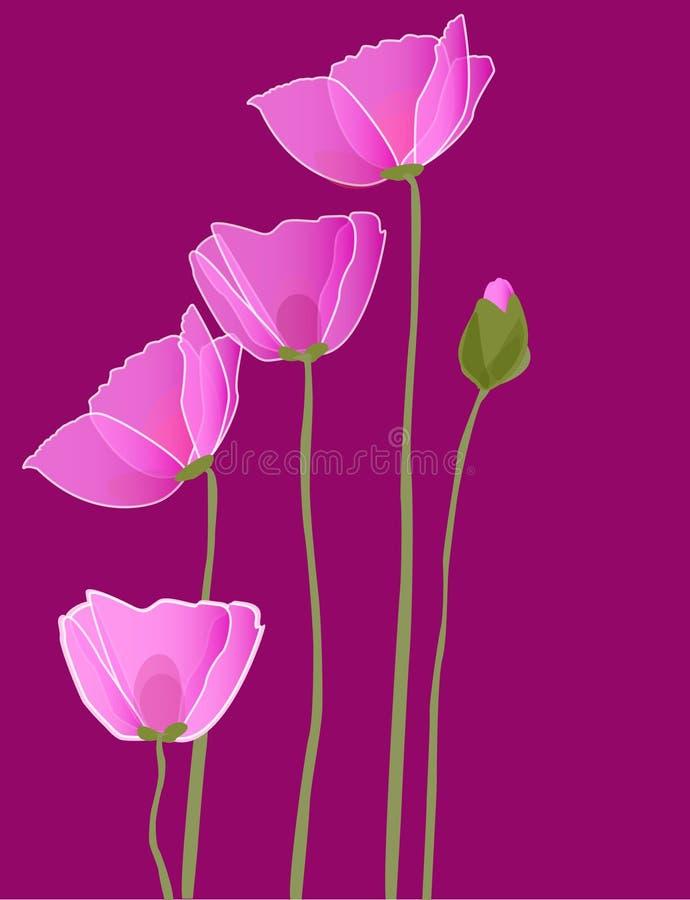 Beautiful flower royalty free illustration