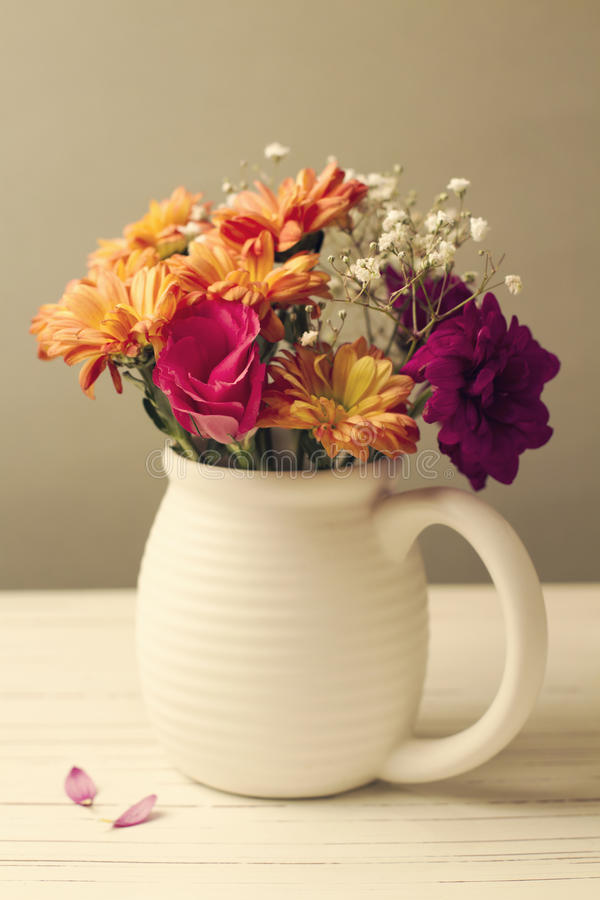 Download Beautiful flower bouquet stock image. Image of design - 26887813