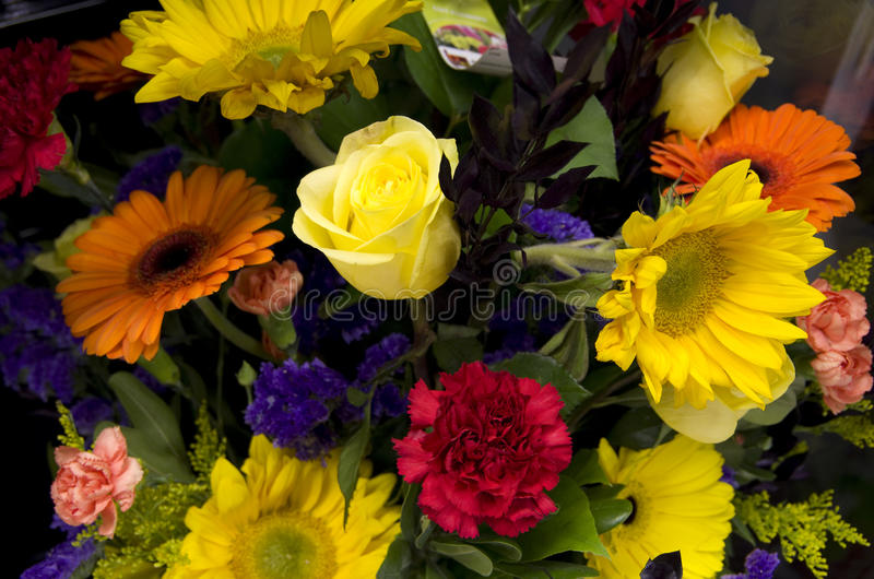 Beautiful flower bouquet stock image