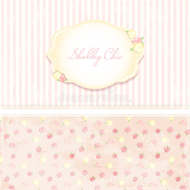 Beautiful Flower Patterned Background Shabby Chic Wedding