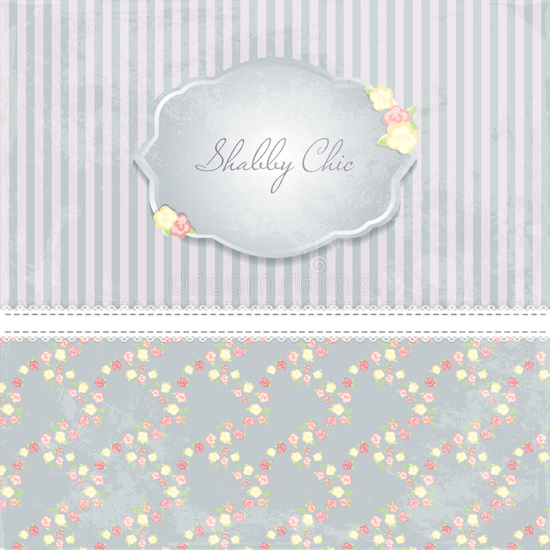 Beautiful Flower-patterned Background. Shabby Chic Wedding ...