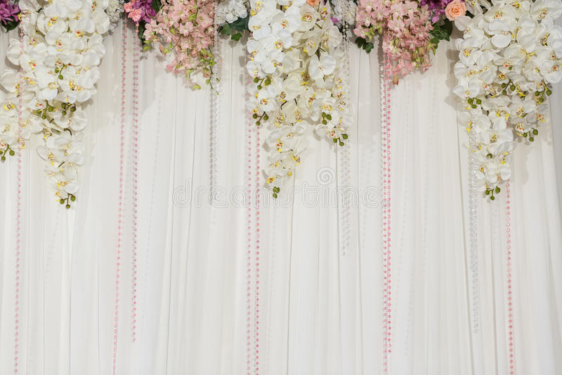 Beautiful flower wedding decoration stock photo image of download beautiful flower wedding decoration stock photo image of decoration fresh 40229734 junglespirit Gallery