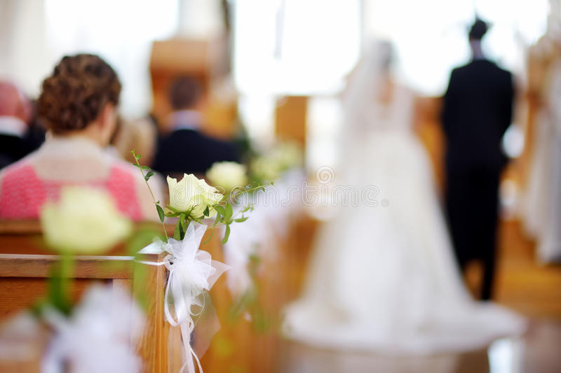 Beautiful flower wedding decoration royalty free stock photos