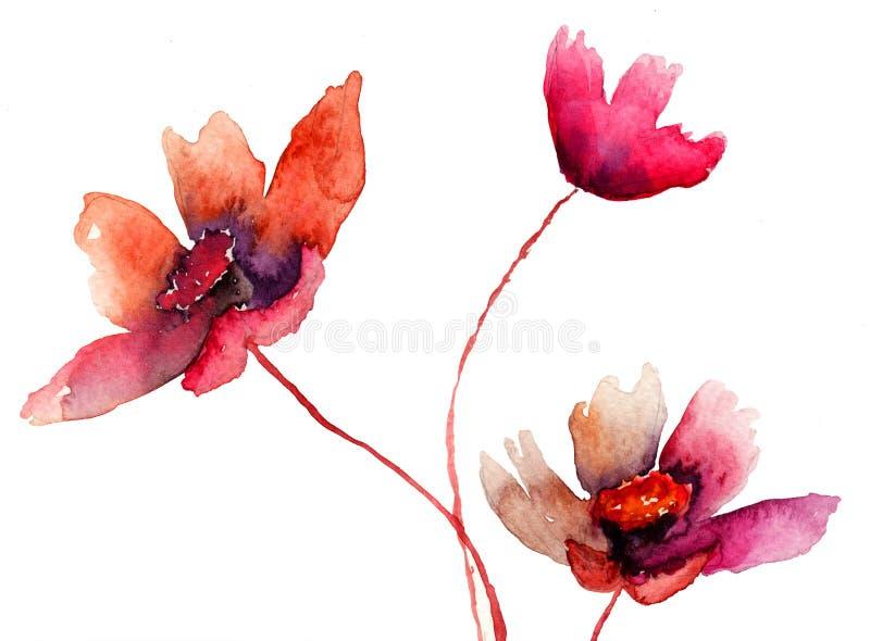 Download Beautiful flowers stock illustration. Illustration of vintage - 28640311