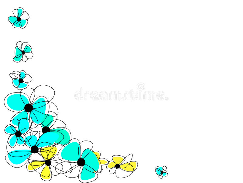 Beautiful Flowers With Amazing Colorful Blossoms Royalty Free Stock Images