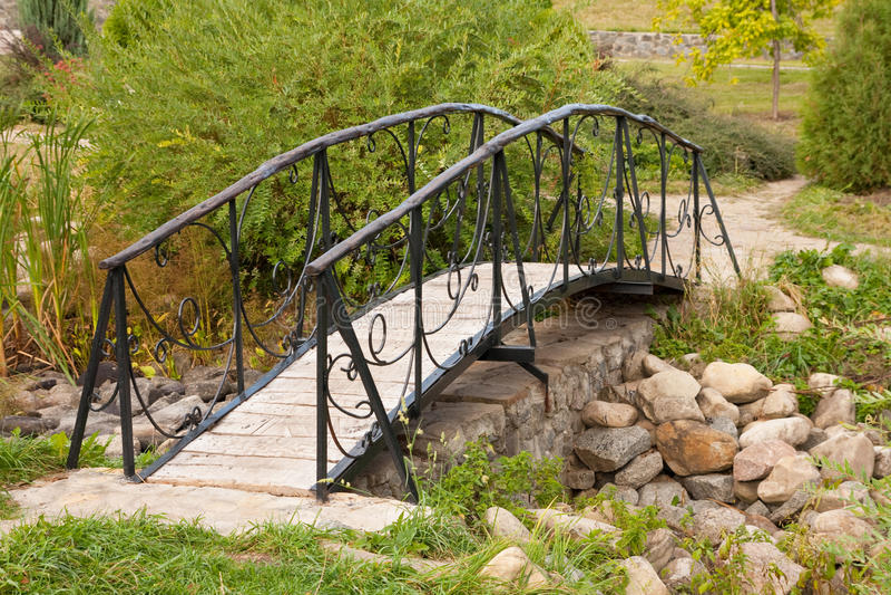Download Beautiful footbridge stock photo. Image of path, outdoor - 29695802
