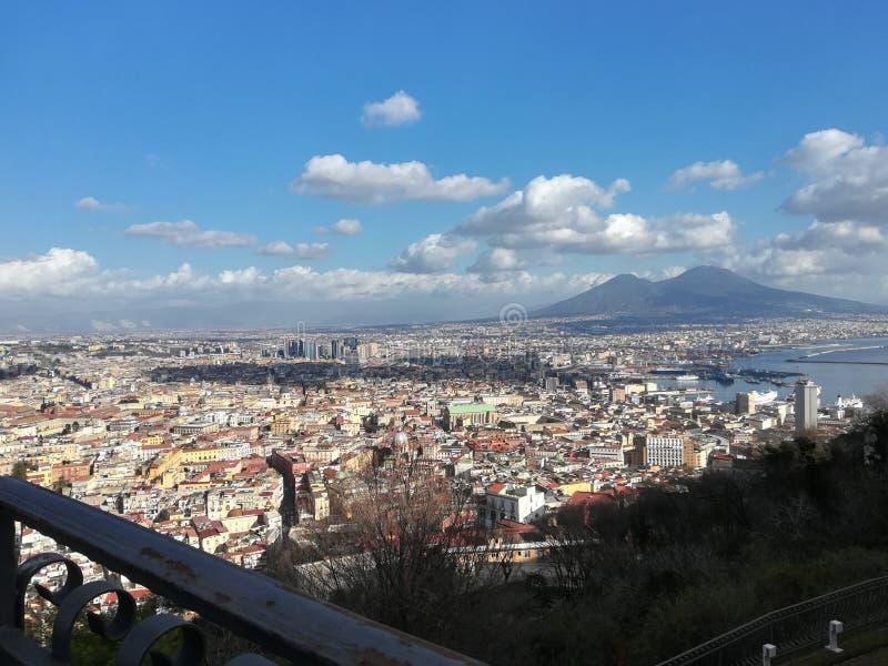 Beautiful foto of Napoli stock photos