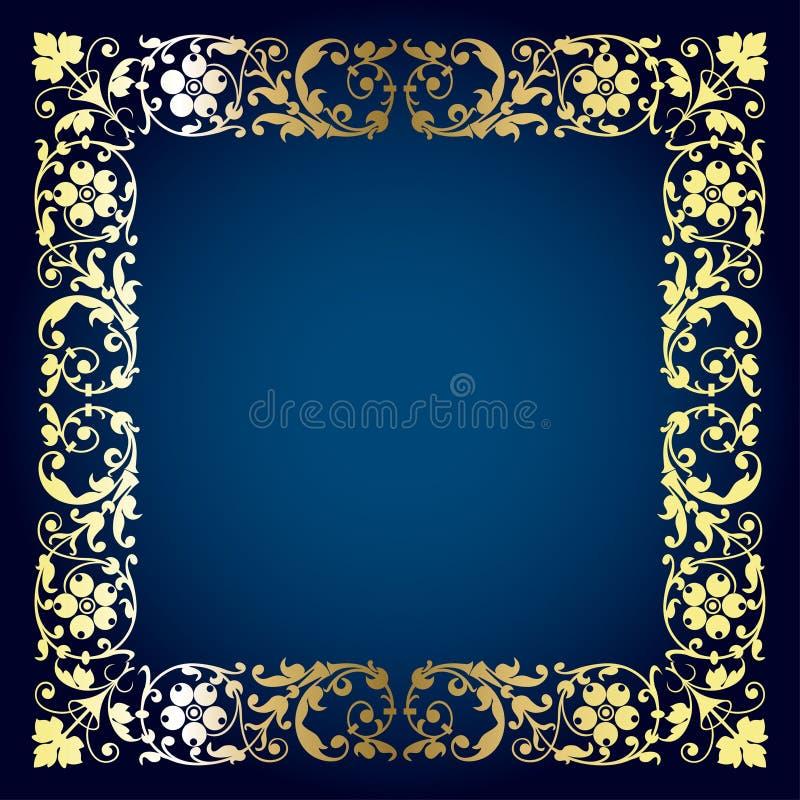 Beautiful frame stock illustration
