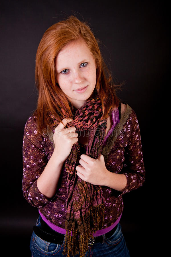 thumbs girls Redhead freckled