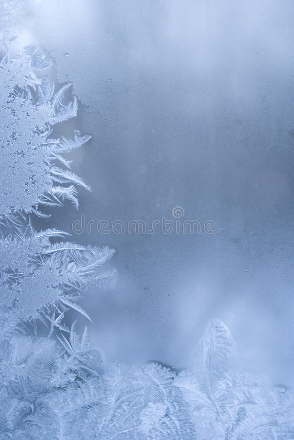 Free Beautiful Frostwork On A Window Royalty Free Stock Photo - 12605175