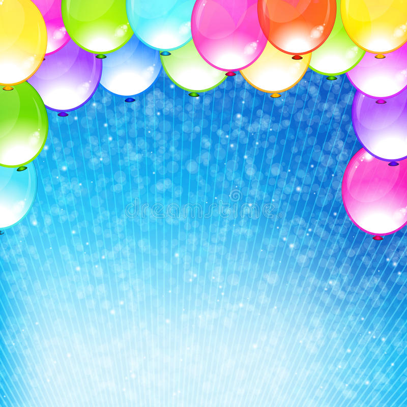Beautiful funny party background. royalty free stock photo