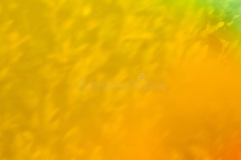 Beautiful fusion of bright colors and light leak stock photography