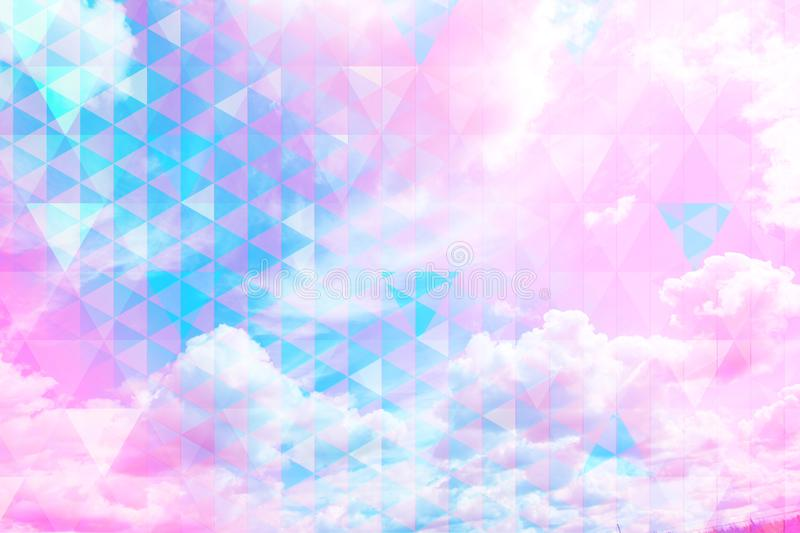 Download Beautiful Sky Beautiful Blue Sky And White Clouds, Royalty Free Stock Illustration - Illustration of hipster, beautiful: 111409953