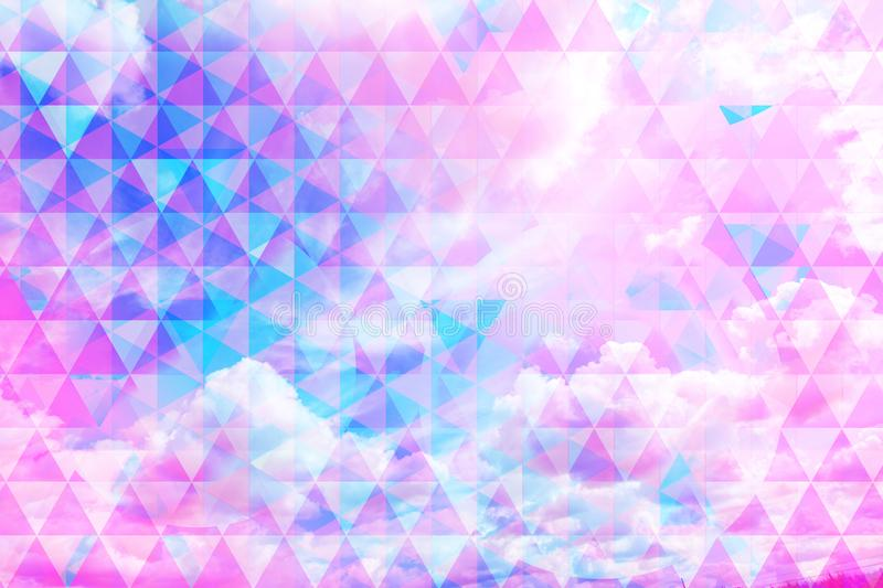 Download Beautiful Sky Beautiful Blue Sky And White Clouds, Royalty Free Stock Illustration - Illustration of pattern, concept: 111410016