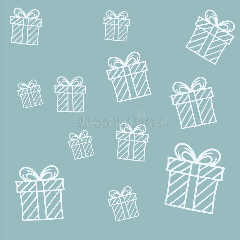 Beautiful gift boxes on background for gift paper stock photography