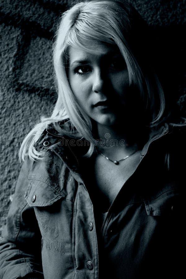 Download Beautiful girl stock image. Image of graffiti, casual - 1406805