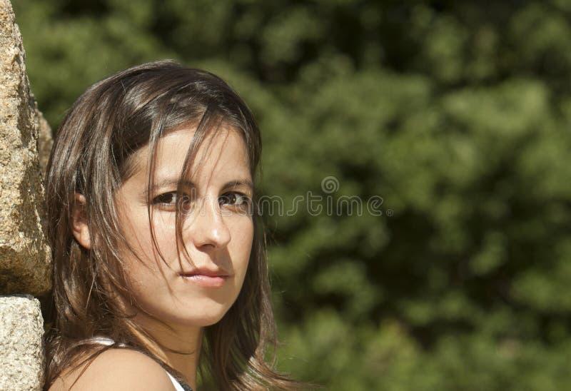 Download Beautiful girl stock image. Image of beauty, nature, girl - 16486493