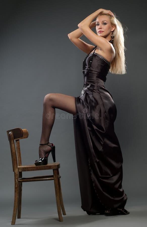 Beautiful girl stock photo