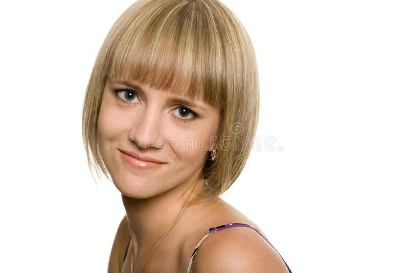 Download Beautiful girl stock image. Image of head, background - 21181037