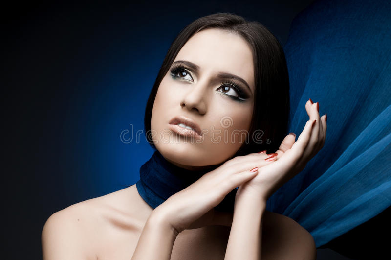 Download Beautiful girl stock image. Image of gaze, attractive - 26528591