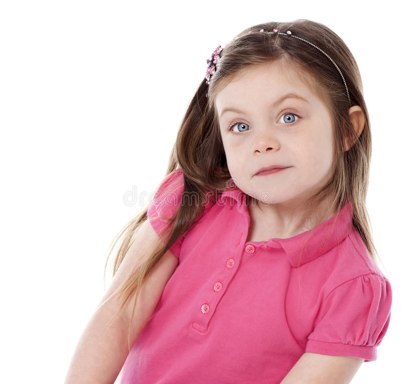 Download Beautiful girl stock image. Image of pretty, sitting - 26672037