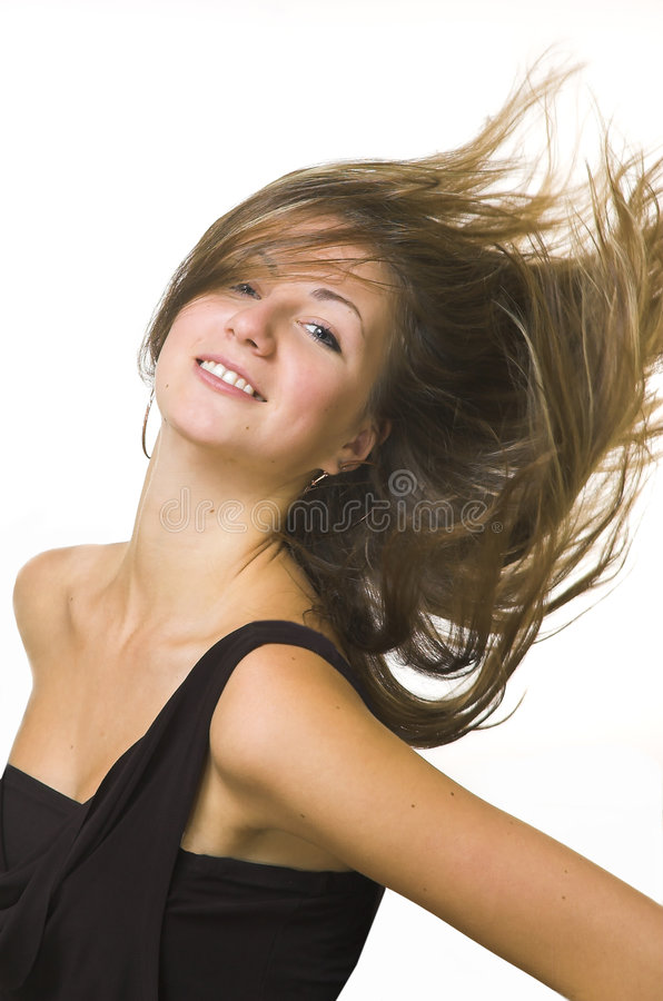 The beautiful girl royalty free stock images