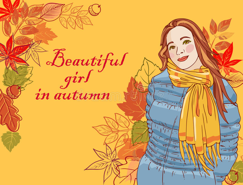 Download Beautiful Girl In Autumn Royalty Free Stock Image - Image: 20833996