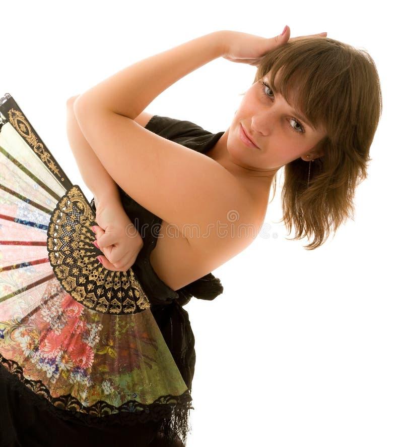 Beautiful Girl Dansing Royalty Free Stock Photography