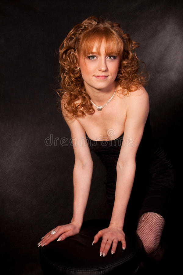 Download The Beautiful Girl In Dress Stock Image - Image of model, nice: 13232707