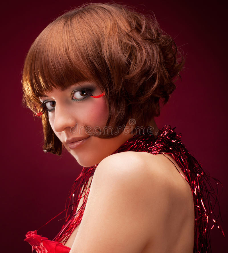 Download Beautiful Girl With Glamour Make-up Stock Images - Image: 22329784