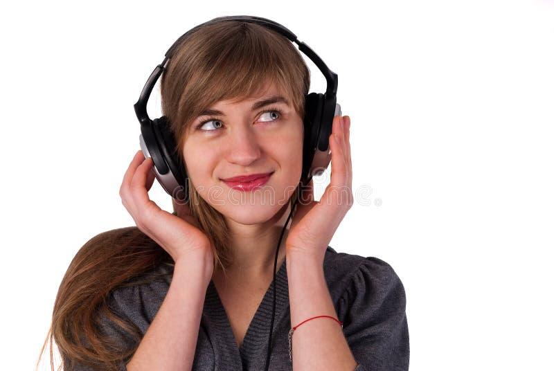 Download Beautiful Girl With Headphones Stock Photo - Image: 22770086