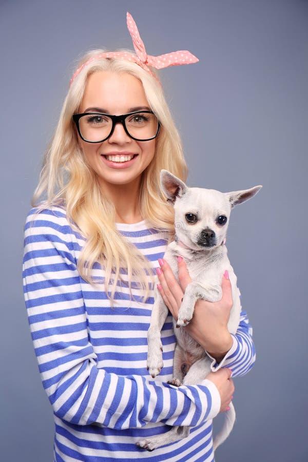 bikini-girl-holding-puppy