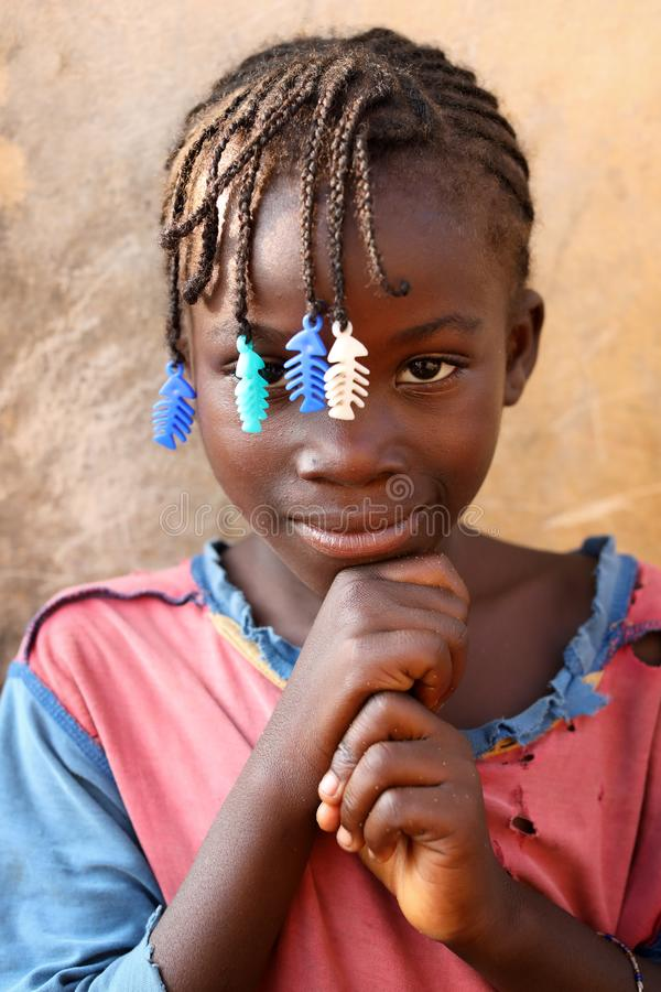 Free Beautiful Girl In A Slum In Accra, Ghana Royalty Free Stock Photos - 115245038