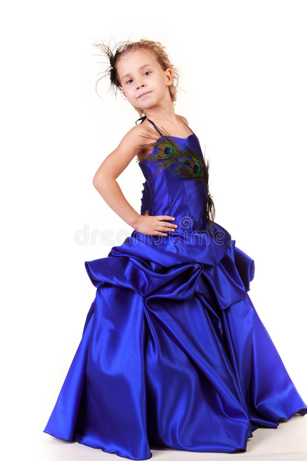 Free Beautiful Girl In Evening Dress Royalty Free Stock Image - 21768326