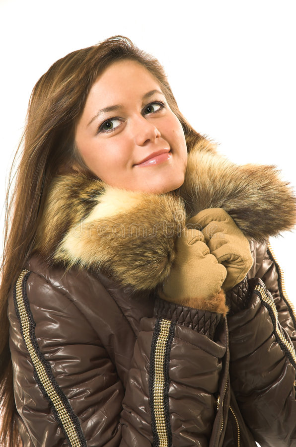 Free Beautiful Girl In Winter Clothes Royalty Free Stock Photos - 3646358