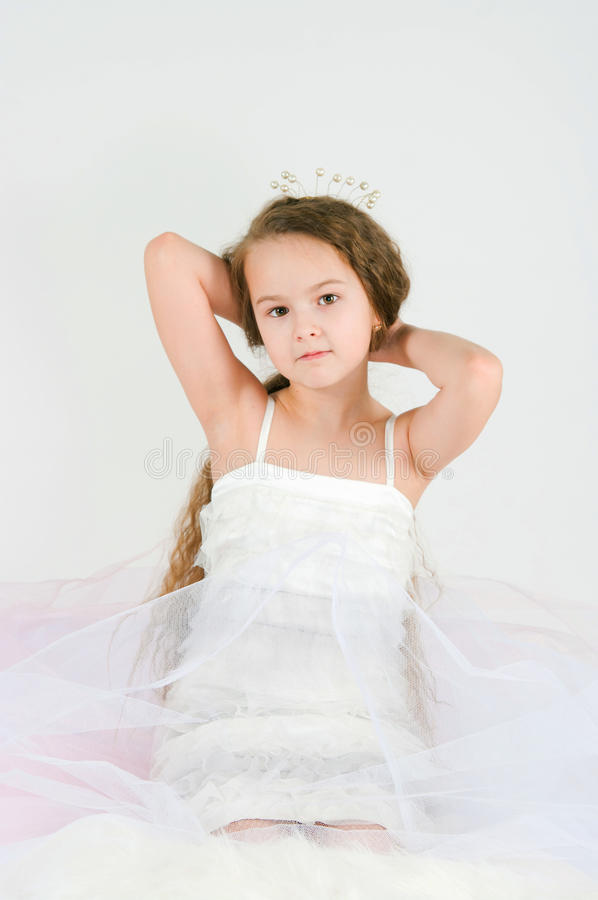 Download The Beautiful Girl With Long Hair Stock Image - Image: 31225449