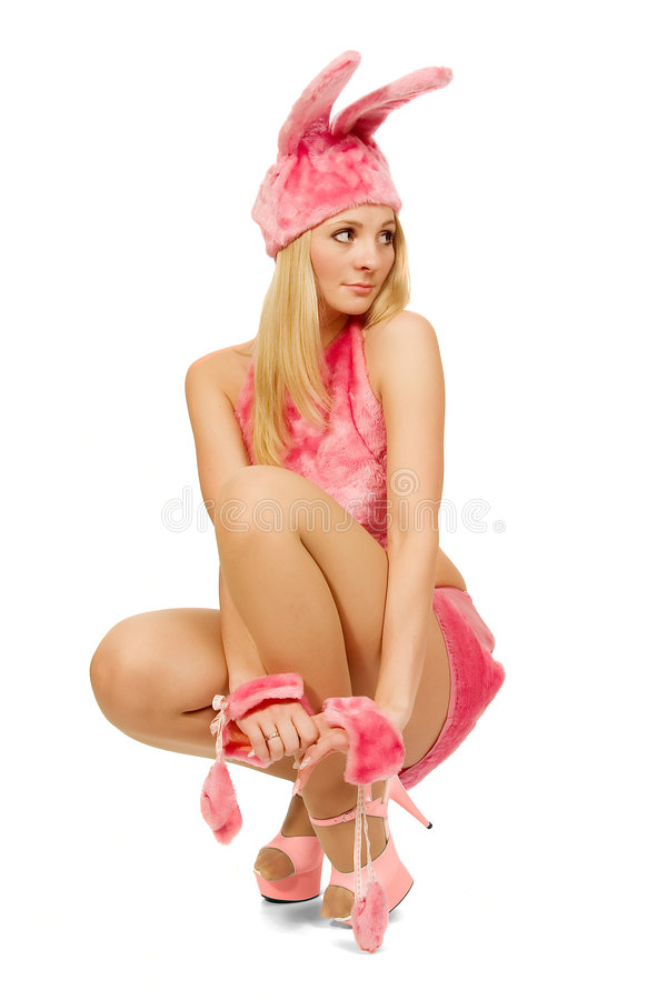 Download The Beautiful Girl In Pink Fancy Dress. Stock Photo - Image: 1701494