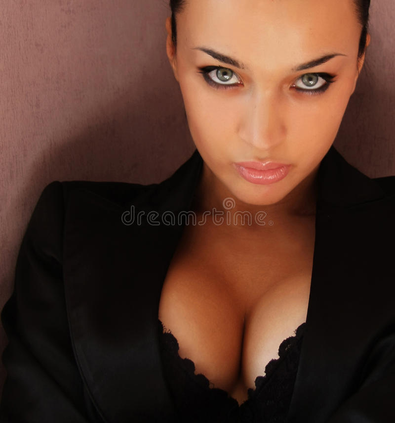 Download Beautiful girl portrait stock image. Image of lady, model - 10495619
