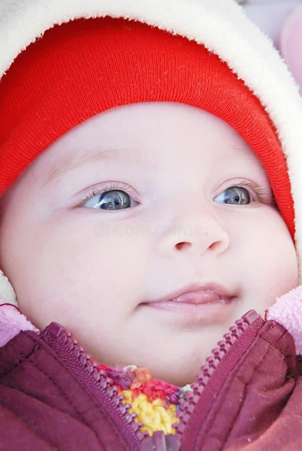 Beautiful girl portrait. Close up royalty free stock photos