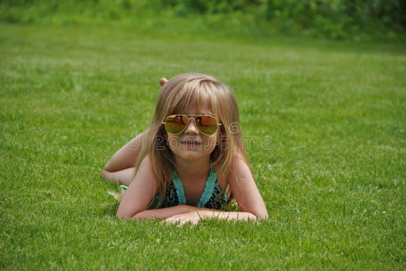 Beautiful girl. Portrait close-up of child models emotion good mood royalty free stock image