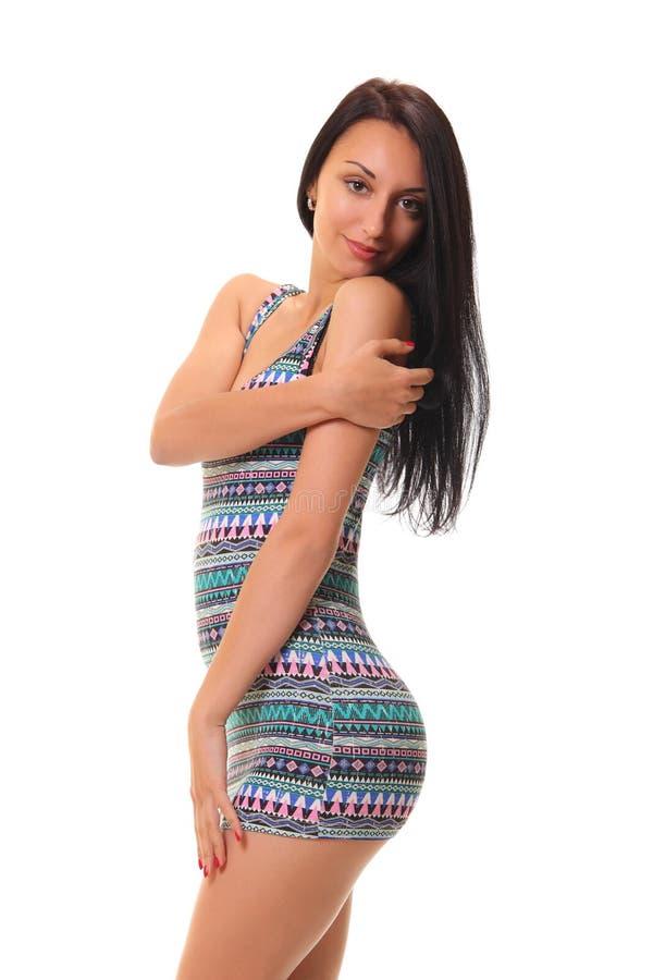 Beautiful girl posing royalty free stock image
