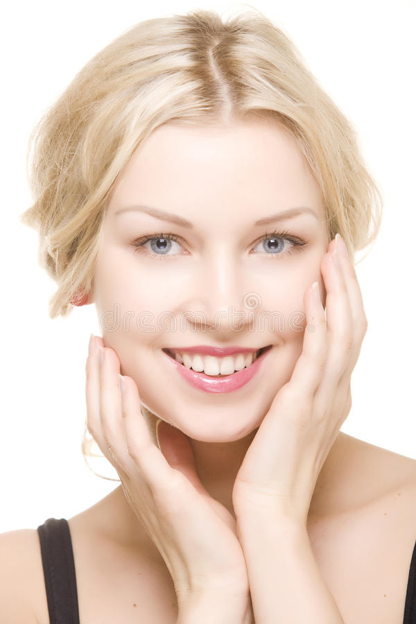 Download Beautiful Girl With Pretty Smile Stock Image - Image: 12899605
