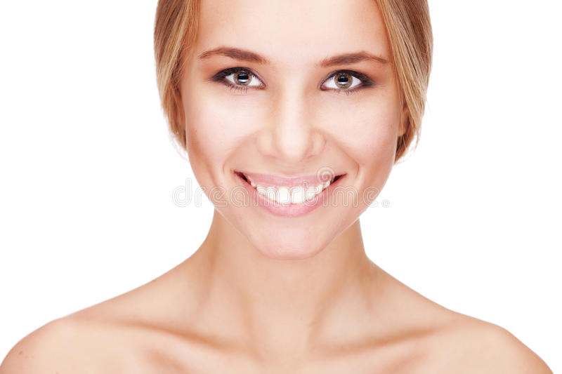 Beautiful Girl With Pretty Smile Royalty Free Stock Images