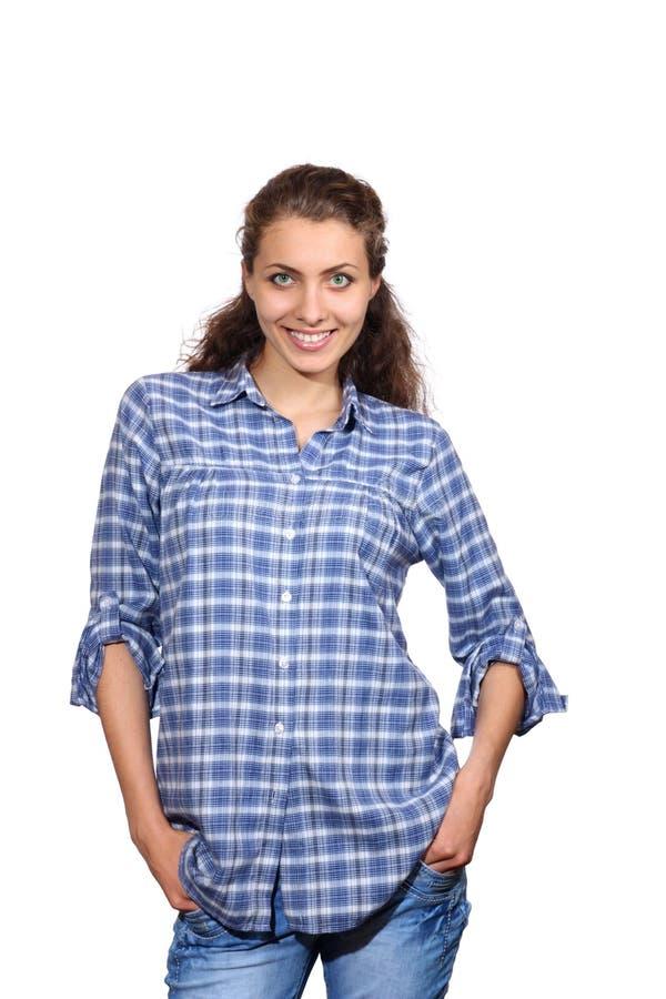 Download Beautiful girl smiling stock image. Image of girl, eyed - 19778449