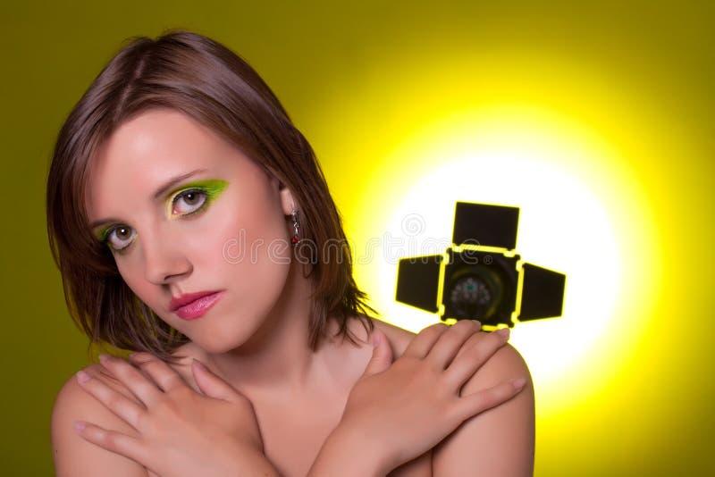 Download Beautiful Girl. Studio Shot. Stock Image - Image: 10498001
