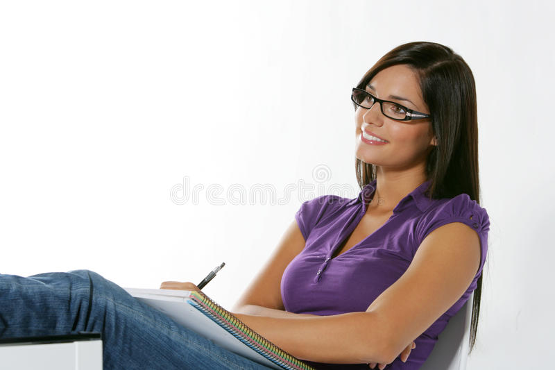Download Beautiful Girl Studying Stock Photography - Image: 11146312