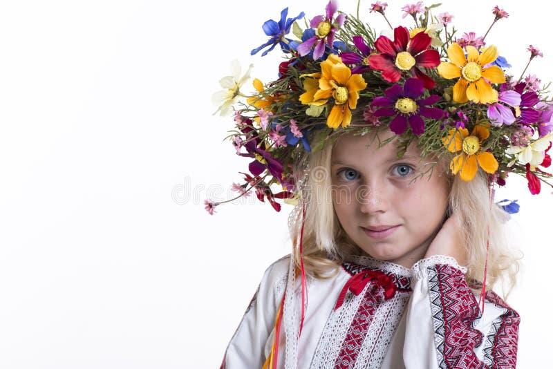 Download Beautiful Girl In Ukrainian Ethnic Clothing Stock Image - Image: 33437379