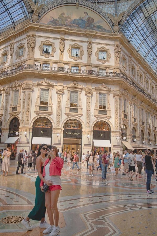 Free Beautiful Girls Enjoying The Italian Holidays Royalty Free Stock Images - 150987229