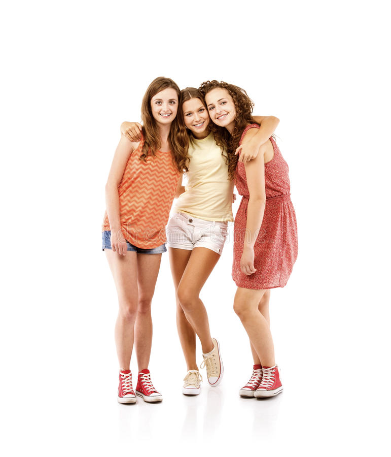 Beautiful girls royalty free stock image
