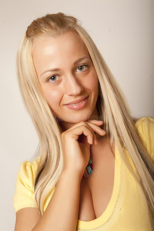 Beautiful glamor girl stock photos